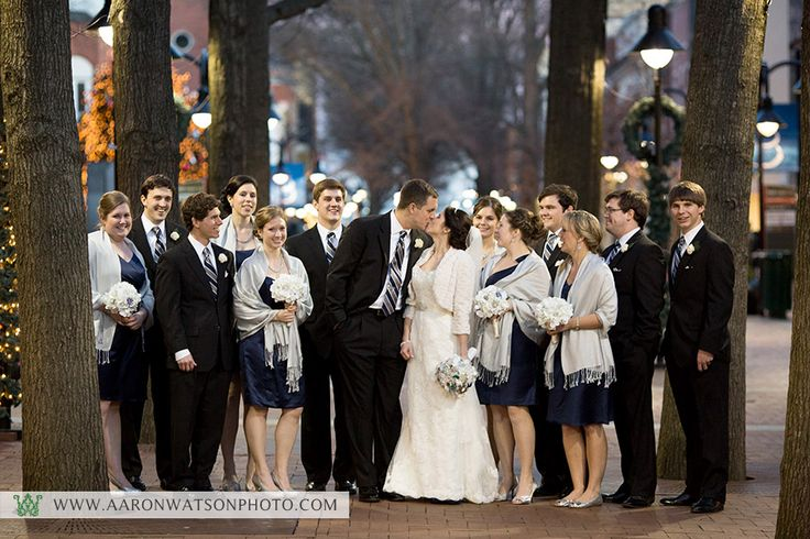 Suzanne + Kevin on December 30, 2012 ♥ Aaron Watson Photography at UVA Chapel (Charlottesville, VA)
