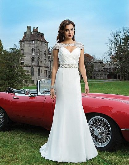 Style 8725 by Justin Alexander  Justin Alexander Trunk Show at Ellie's Bridal Boutique (September 12-14, 2014)