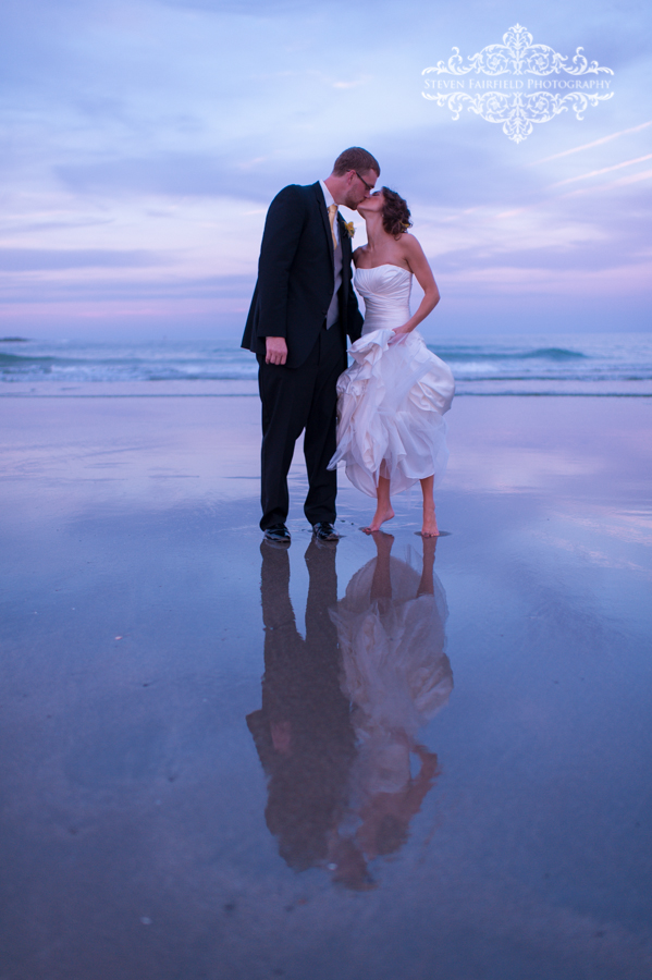 Megan + Jimmy on July 27, 2013 ♥ Steven Fairfield Photography at the Union Bluff Meeting House ( York Beach, ME)