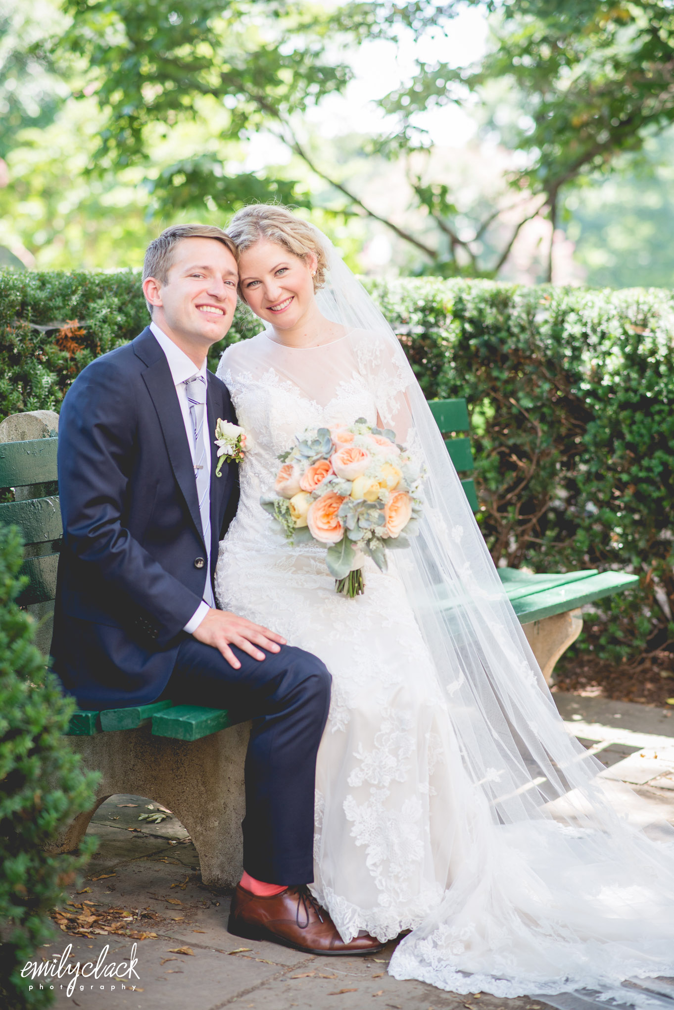Katie + Doug on July 26, 2014 ♥ Emily Clack Photography at Dahlgren Chapel of the Sacred Heart (Georgetown University)