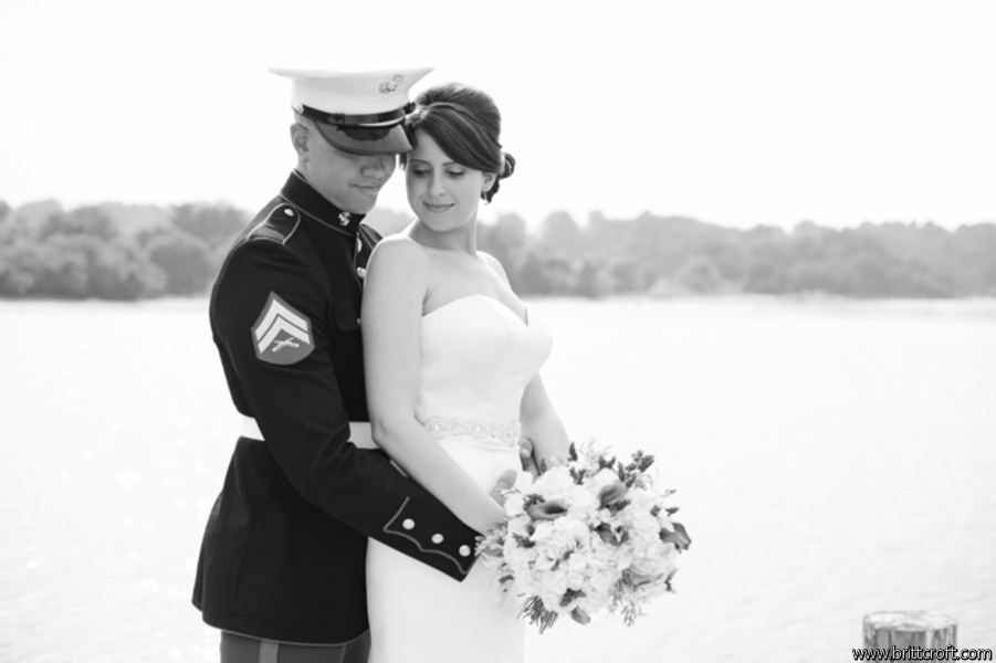 Kristyl + Curt on July 10, 2014 ♥ Britt Croft Photography at Herrington on the Bay (Rose Haven, MD)