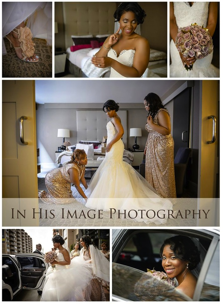 Chablis + Courtney on April 5, 2014 ♥ In His Image Photography at Dunbarton Chapel at Howard University School of Law (NW DC)