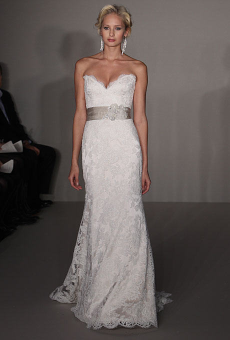 This was the gown of her dreams, but with price tag over $4,000 it was way over her budget.