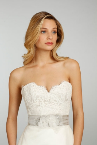The original gown she couldn't afford. Looks like our bride wore her dream dress, after all!