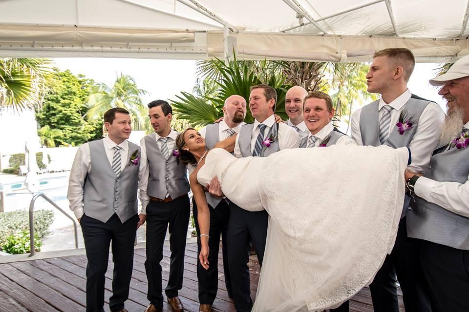 Jess + Shawn on November 21, 2014 ♥ The Reach – A Waldorf Astoria Resort (Key West, FL)