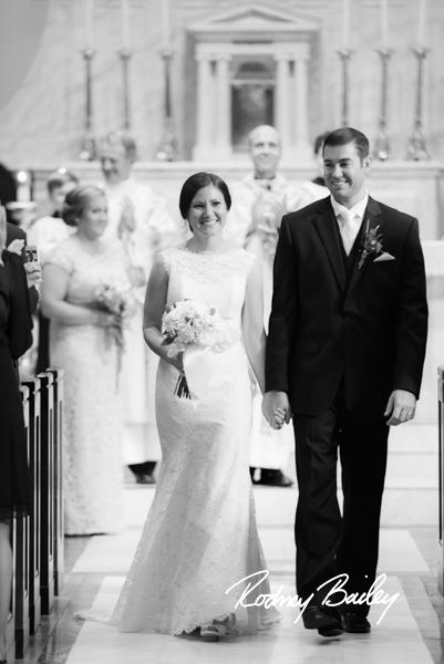 Janice + Frank on October 25, 2014 ♥ Photojournalism by Robert Bailey at St. Mary's Catholic Church (Alexandria, VA)