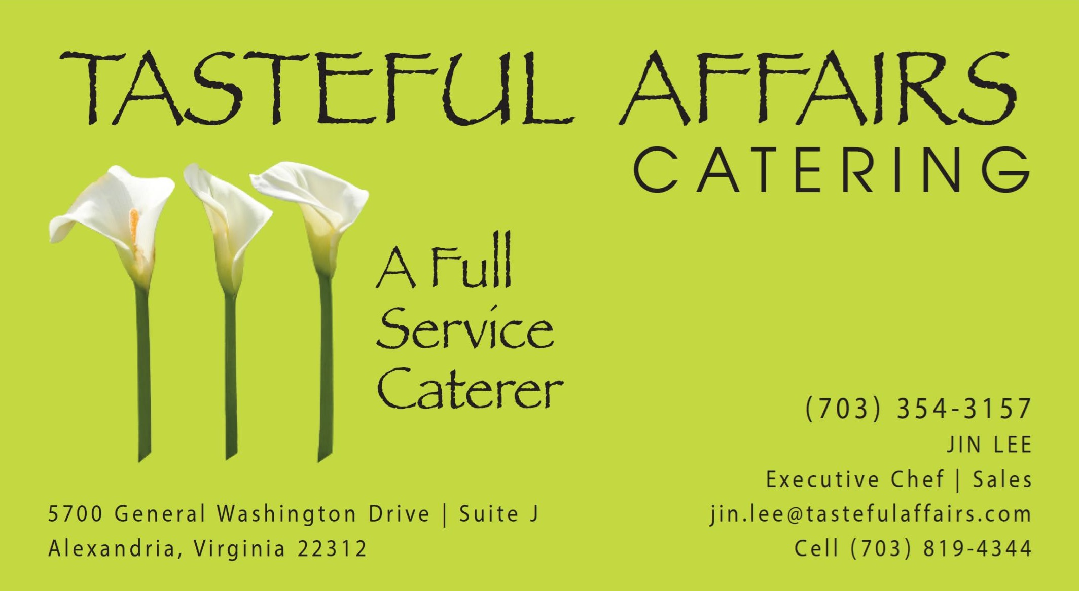 Tasteful Affairs at Wedding Blueprint: A wedding open house with DC's top wedding professionals. Feb 22 in Alexandria, VA