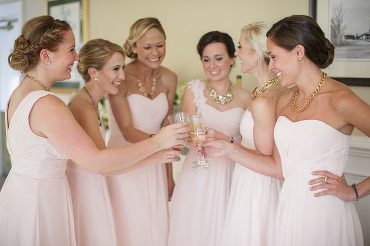 Kayla's bridesmaids on September 27, 2014 ♥ Megan Ann Photography at Fauquier Springs Country Club (Warrenton, VA)