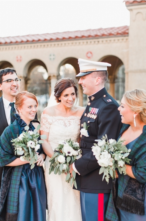 Claire + Mike on January 31, 2015 ♥ Annamarie Akins Photography at St Francis Hall Monastery Gardens  (NE DC)