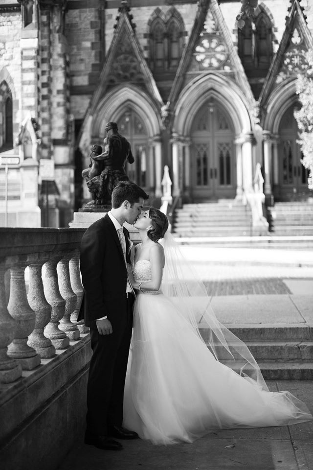 Chloe + Victor on August 16, 2014  ♥ Bandera Wedding Photographyat the George Peabody Library (Baltimore, MD)