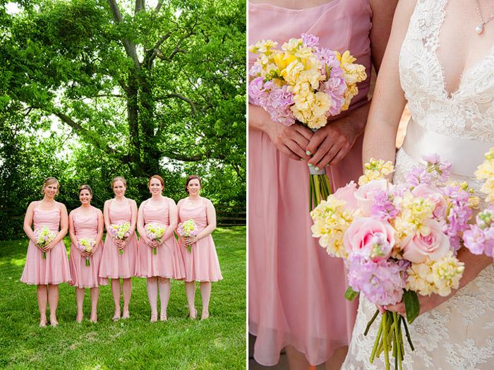 Lisa & her bridesmaidson May 30, 2015 ♥ Kelly EwellPhotography at Rose Hill Manor(Leesburg, VA)