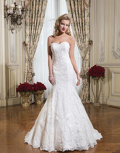 Justin Alexander (Under $5000) – find it at Ellie's Bridal Boutique