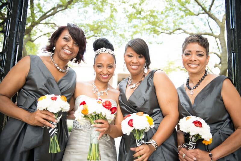 Tamara & her bridesmaids on July 27, 2013 ♥ Art + Life Photography at Artesano Iron Works Gallery (Philadelphia, PA)