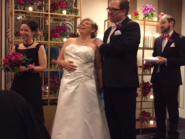 Lisa + David on April 25, 2015