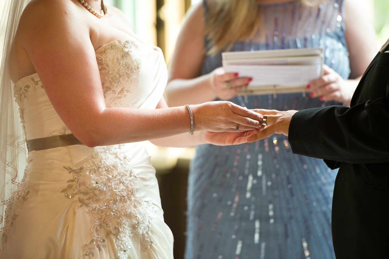 Camille + Alex on August 29, 2015 at Embassy Row Hotel (NW DC)