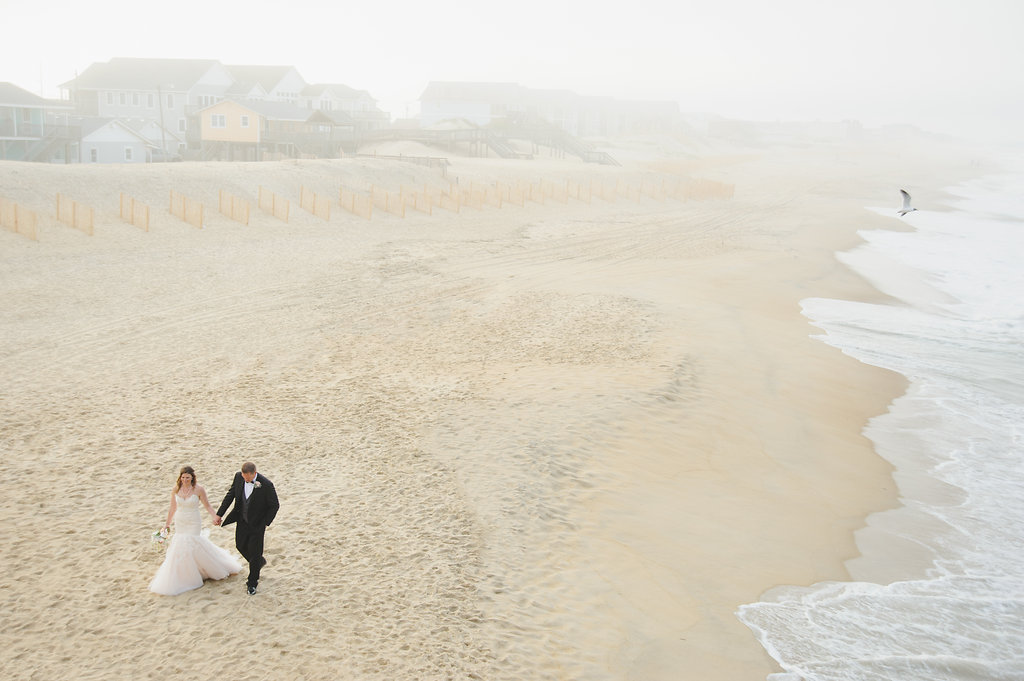 Michelle + William on April 18, 2016 ♥ Neil GT Photography at Jennette's Pier (Nags Head, NC)