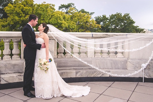 Kathy + Kevin on September 26, 2015  ♥ Southernly Studios Photography at DAR Constitution Hall (NW DC)