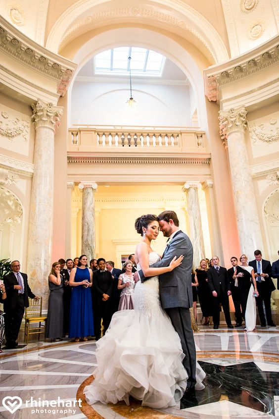 Courtney + Evan on June 25, 2016 ♥ Rhinehart Photography at the Carnegie Institution for Science (NW DC)