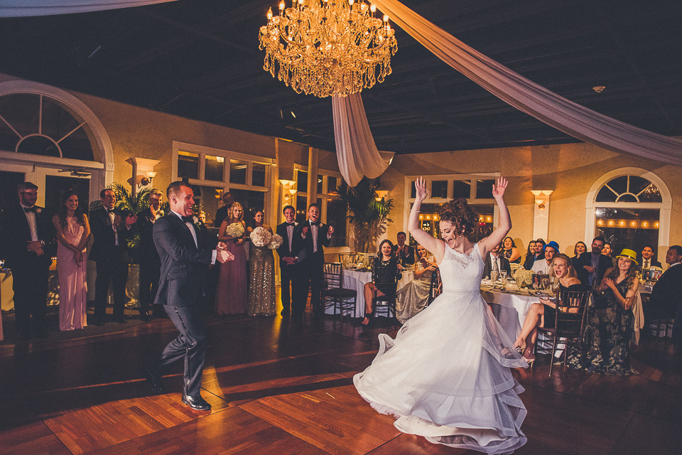 Megan & Blake on December 31, 2016 ♥ Cammy & Alex Wedding Photography at The White Room (St. Augustine, FL)