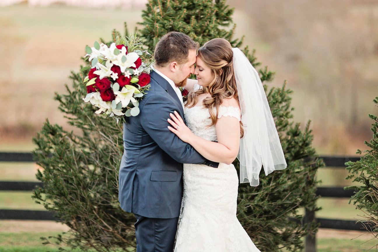 Allison + Stefan on November 12, 2016 ♥ Elle Meredith Photography at Shadow Creek (Purcellville, VA)