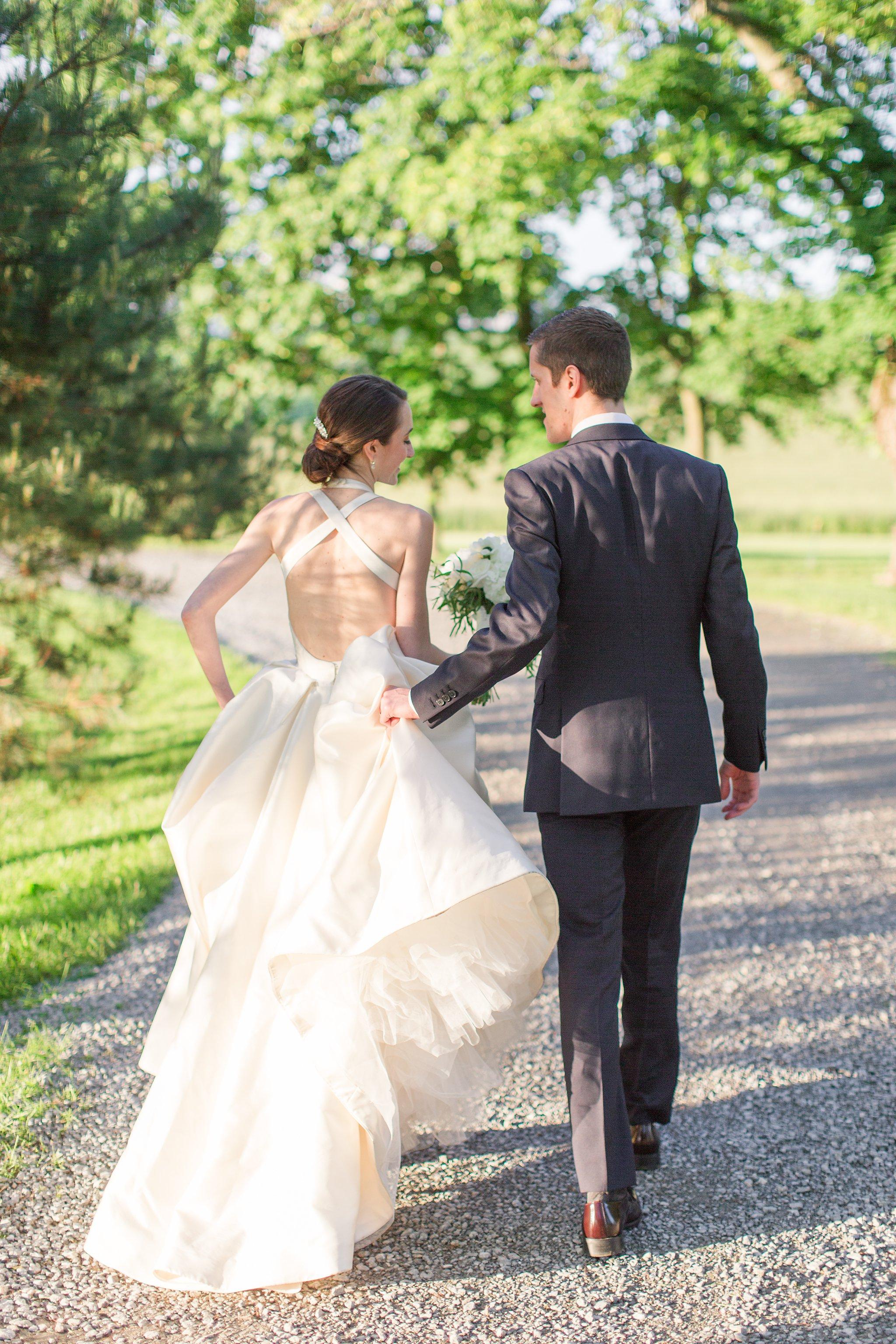 Lauren + Jeffrey on May 13, 2017 ♥ Megan Kelsey Photography at Whitehall Manor (Bluemont, VA)
