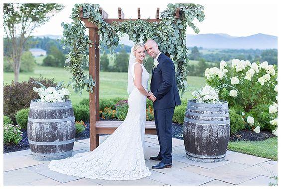 Heather + Caleb on August 12, 2017 ♥ Happy Little Life Photography at CrossKeys Vineyard (Mt. Crawford, VA)