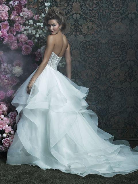 Try it on at Ellie's Bridal Boutique (Alexandria, VA) – Allure Couture C417