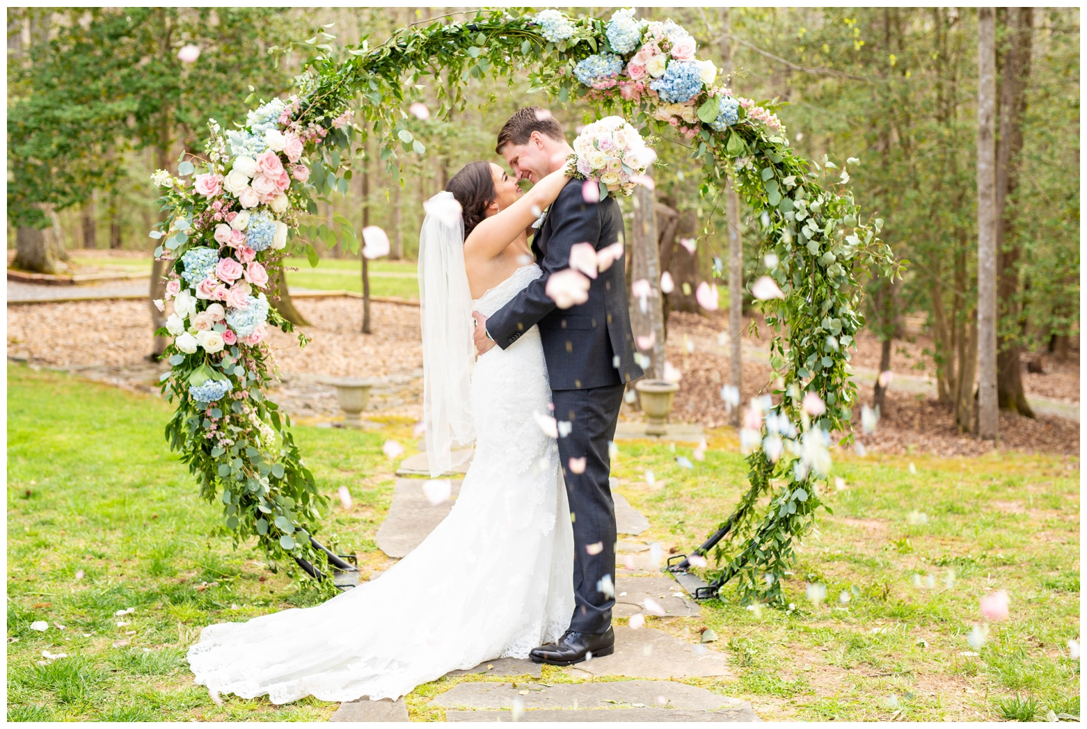 Anna + Chris on April 21, 2018 ♥ Hope Taylor Photography at Eden Try Winery (Fredricksburg, VA)