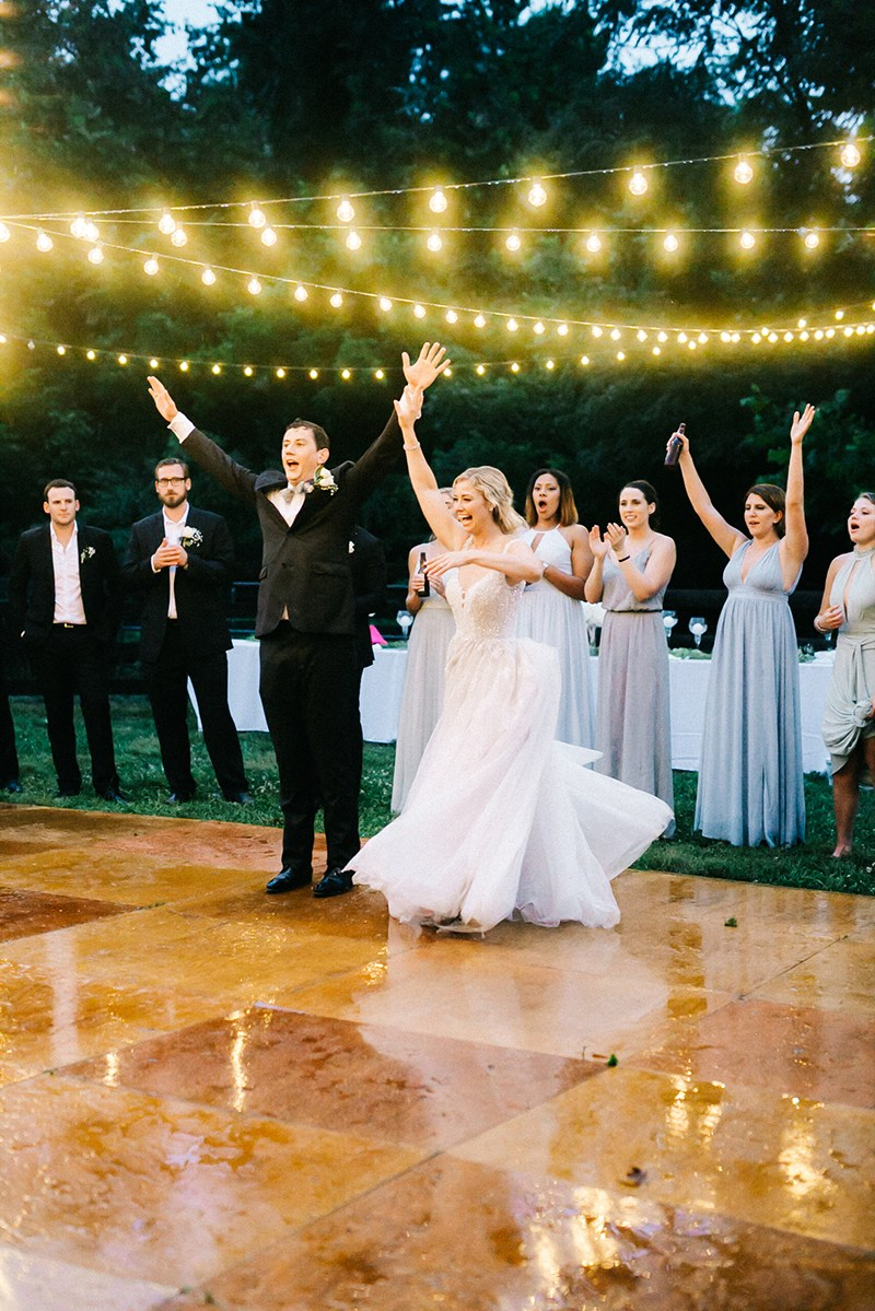 Offbeat Bride - Worried about rain on your wedding day? This story will unironically help…