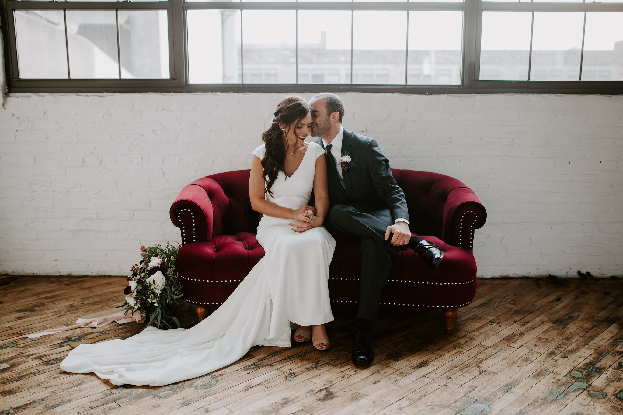 Morgan + Ty on December 2, 2017 ♥ Mikayla Herrick Photography at Accelerator Space (Baltimore, MD)