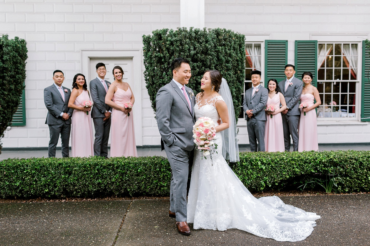 Jessica + Jonathon on April 28, 2018 ♥ Huoy Chen Photography at Rainier Chapter House (Seattle, WA)