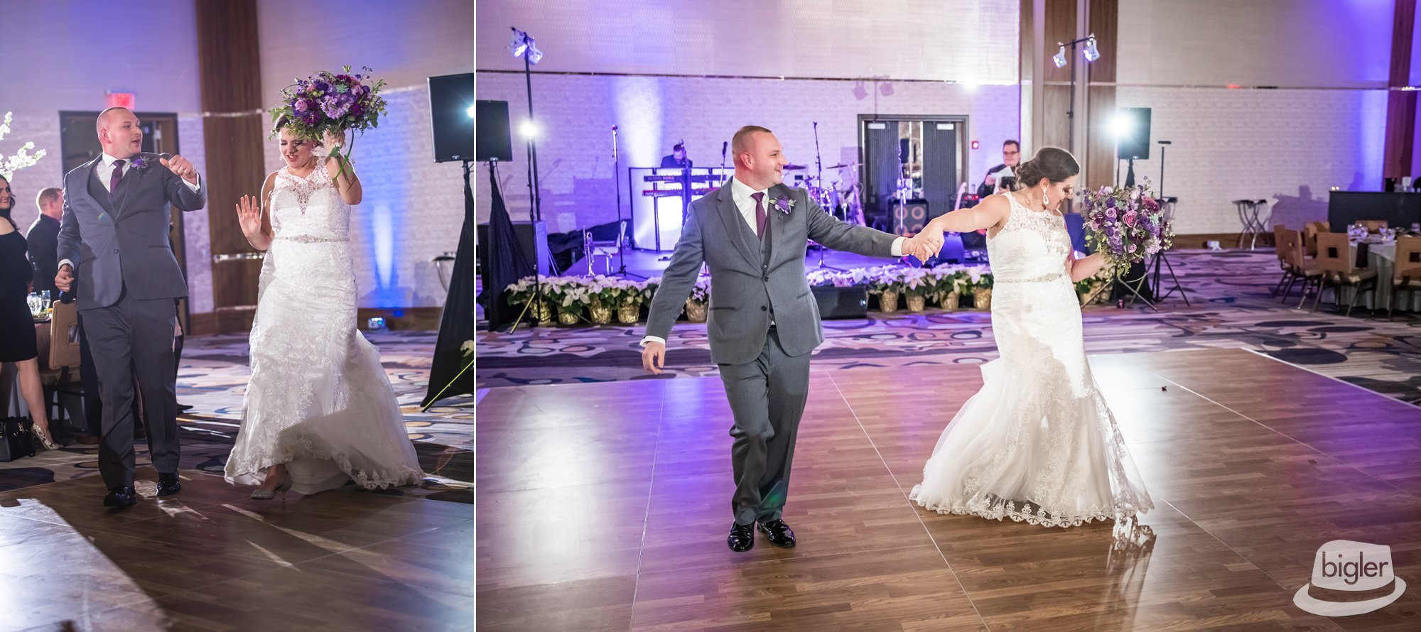 Kelsey + Nick on December 28, 2018 ♥ Dave Bigler Wedding & Films at Rivers Casino (Schenectady, NY)