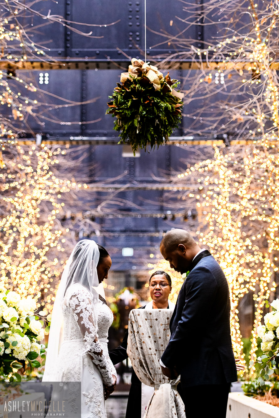 Khadijah + Randall on December 28, 2018 ♥ Ashley Michelle Photography at Sagamore Pendry (Baltimore, MD)