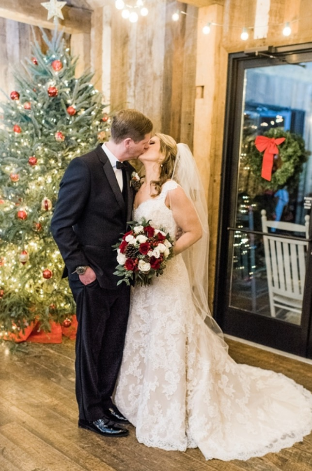 Laurie + Danny on December 13, 2018 ♥ Stephanie Messick Photography at Winery at the Bull Run (Centreville, VA)