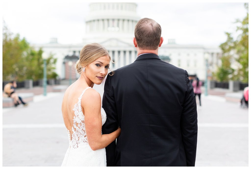 Kari + Pat on October 26, 2018 ♥ Brett Denfeld Photography at the Capitol and National Mall