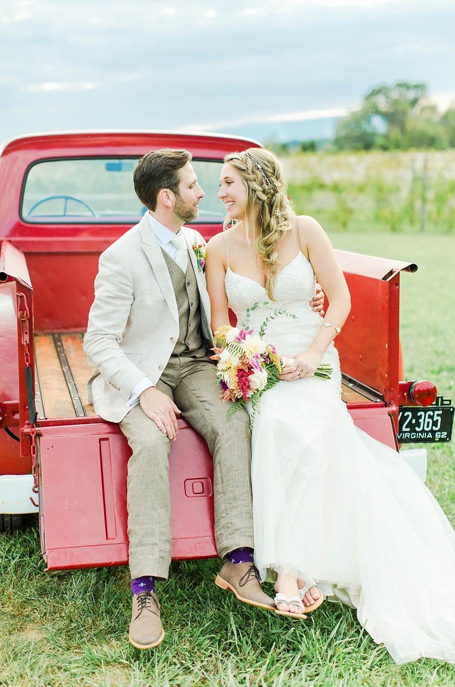 Jessica + Blake on September 16, 2017 ♥ Emily Sacra Photography Faithbrooke Barn & Vineyard (Luray,VA)