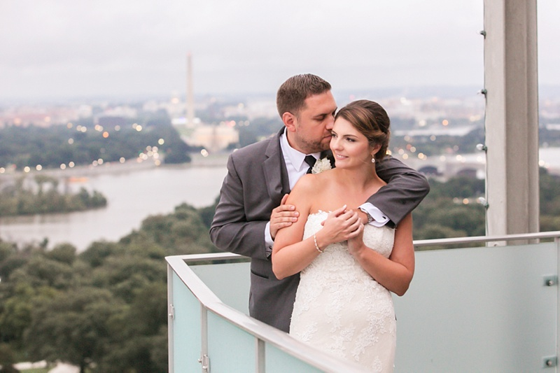 Kim + Mike on September 8, 2018 ♥ Jessica Smith Photography at Lee Fendall House & Top of the Town (Alexandria Virginia)