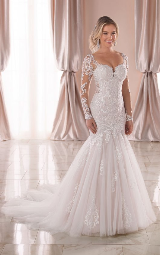 Try it on at Ellie's Bridal Boutique (Alexandria, VA) – Stella York 6852