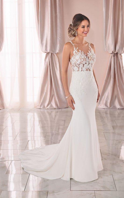 Try it on at Ellie's Bridal Boutique (Alexandria, VA) – Stella York 6895