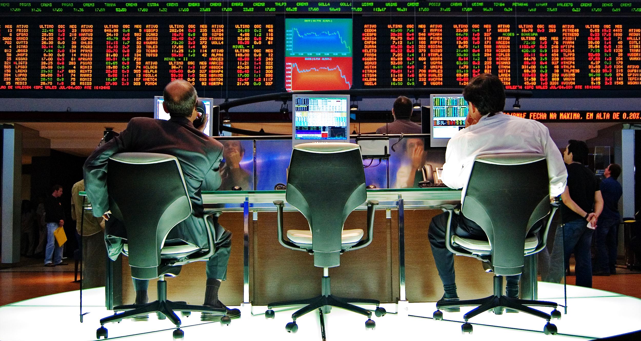 The Sao Paulo Stock Exchange (Bovespa) by Rafael Matsunaga, CC