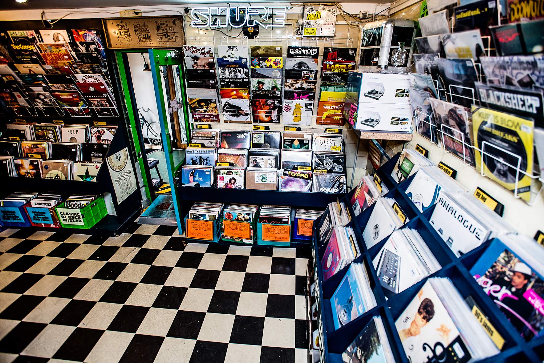 Shop Floor: Record Store, Darlinghurst.