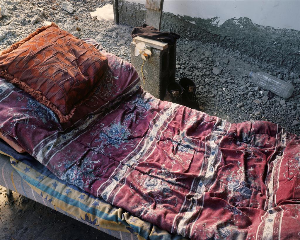 Bed and ventilator, 2011, inkjet print, 80X100 cm