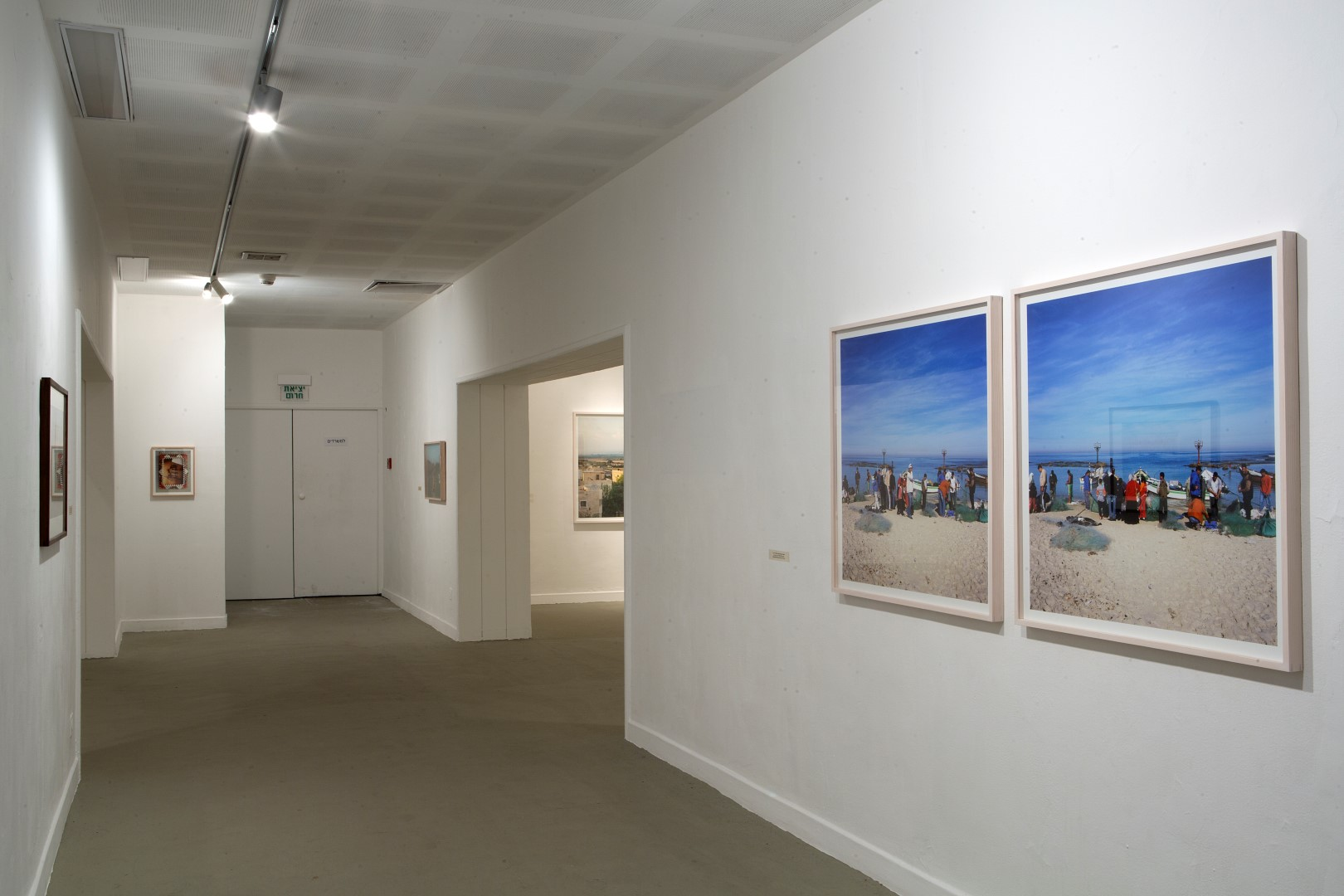 Jisr al- Zarqa, Back-and-Forth part 1, Haifa Museum of Art, 2014