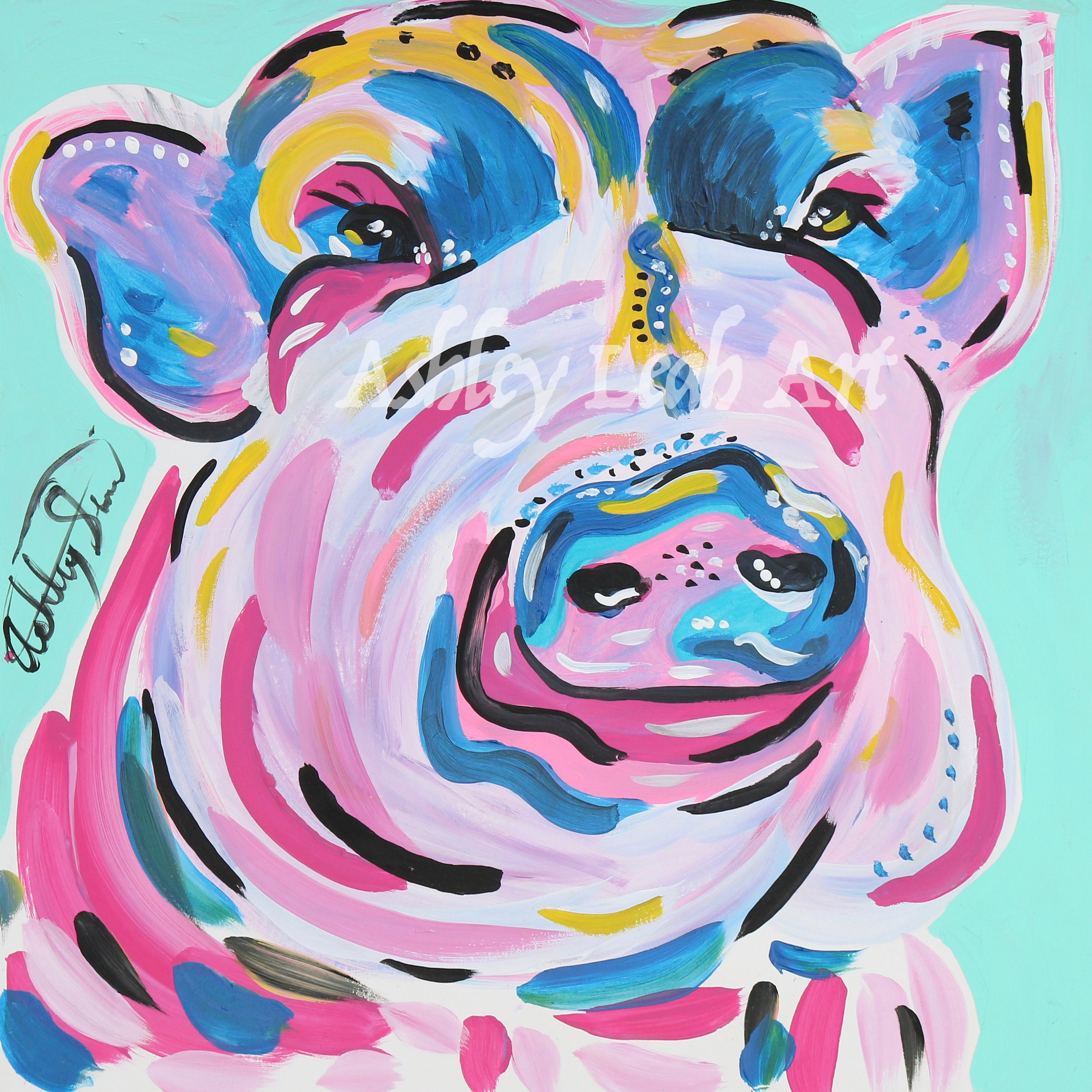 Jewels the Pig -