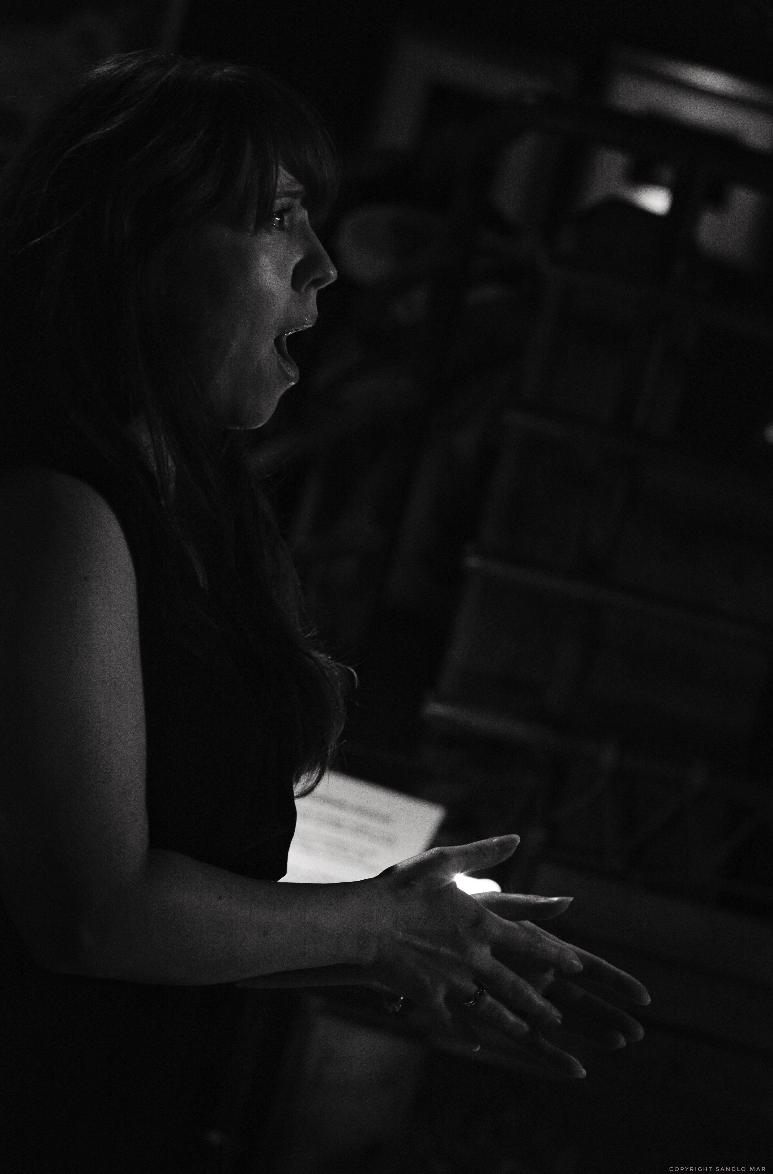 Soprano Mariann Fjeld-Solberg with the lovely mermaid aria.