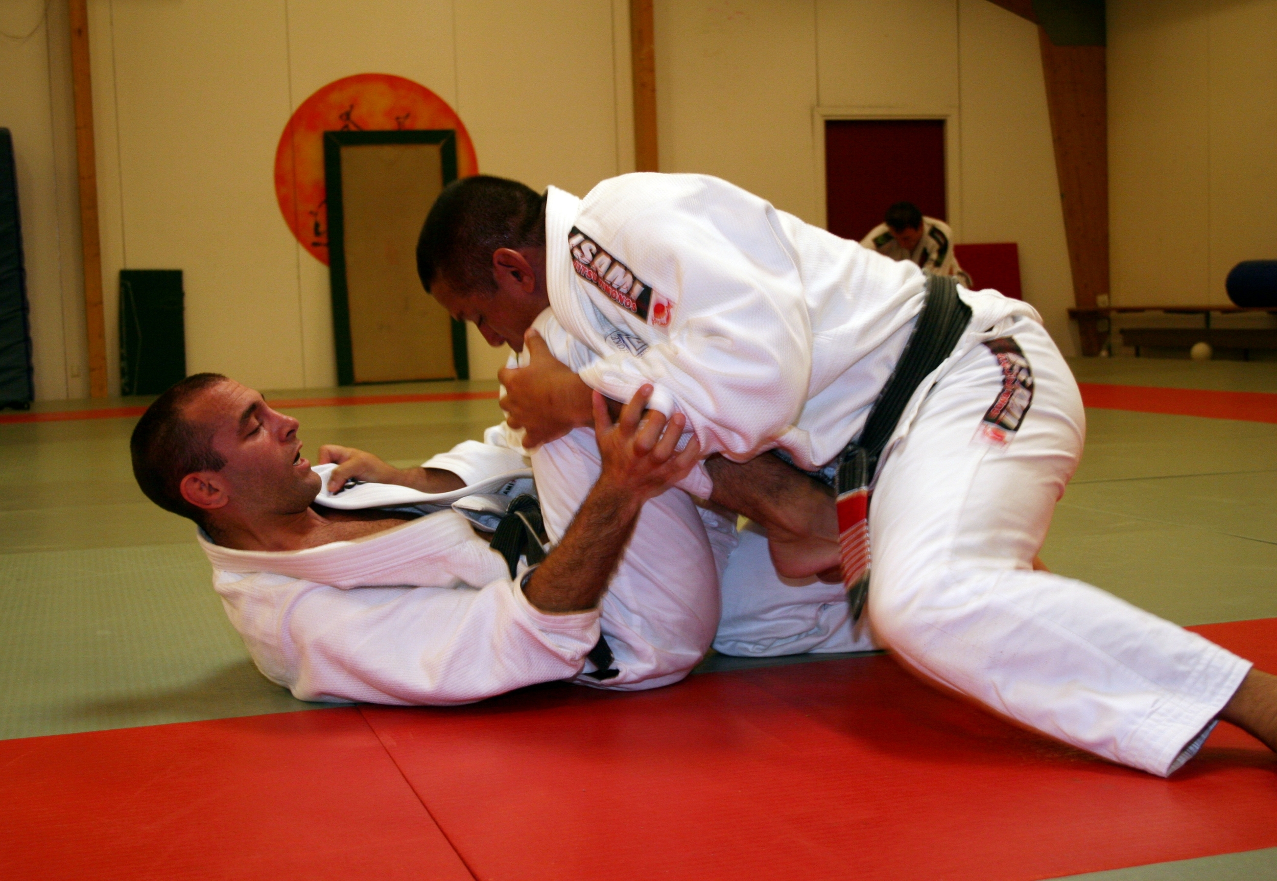 JP spars with Master Bolao