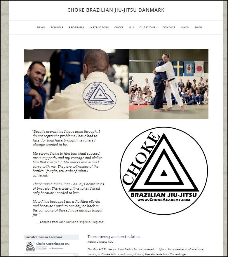 The new ChokeAcademy.com website
