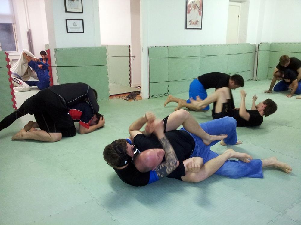 Gi and Nogi training at Choke BJJ Copenhagen