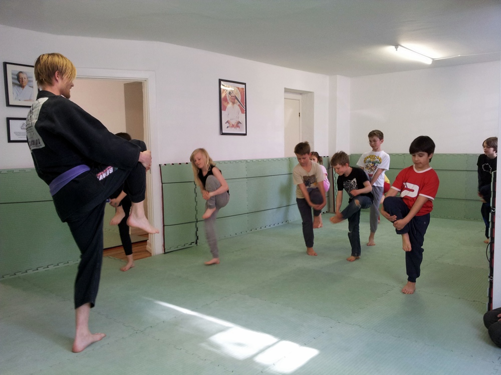 Choke CPH Kids BJJ Program
