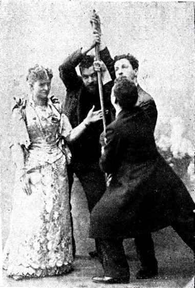 Dixie Haygood performing magic